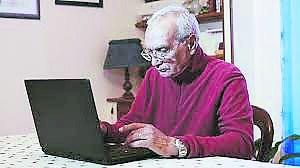 Older people going digital at Malvern House