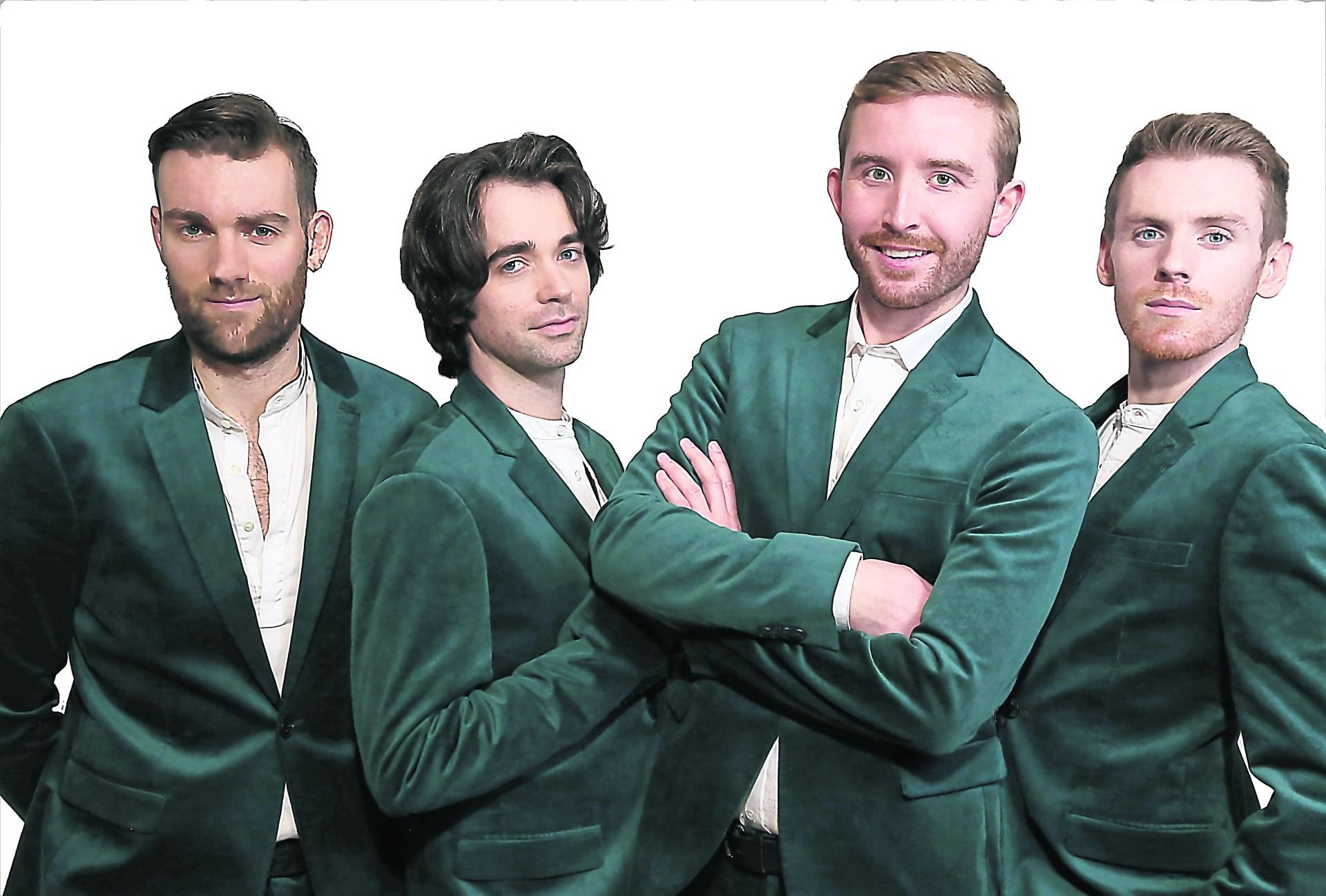 Derry singer back home for The Four Harps debut in the city