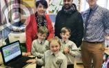 New IT suite at St. Eugene's Primary School