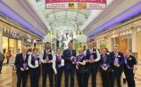 Foyleside Security and Hospitality Staff with Centre Manager, Fergal Rafferty