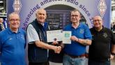 Amateur Radio Club picks up UK award