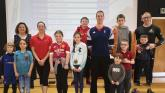 Olympic Swimmers inspire the next generation of sports stars at Oakgrove Integrated PS