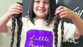 Brave Derry girl donates her hair to Little Princess Trust