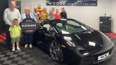 Derry woman who can't even drive wins a Lamborghini sports car