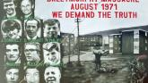 Derry councillors observe minute's silence in memory of those killed in Ballymurphy massacre
