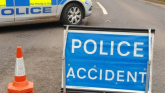 County Derry road closed following collision