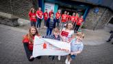 Derry Chamber of Commerce members abseil from Tower Museum peak for ambulance charity