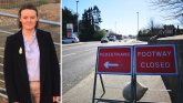 Concern over floodlights being switched off at County Derry roadworks