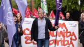 Trade unionists call for 'five minutes of noise' for workers' rights on May Day