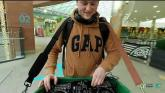 WATCH: Walking DJ Finn on the decks again