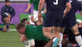 RUGBY WORLD CUP: Furlong hails few days off as Ireland gear up for Samoa clash