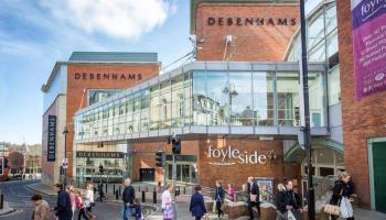 House of Fraser picks up Foyleside Shopping Centre location left behind by Debenhams