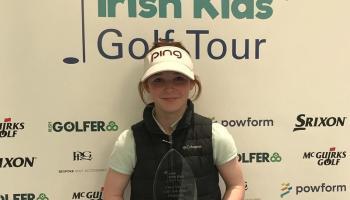 Local golfers success at Irish Kids Open
