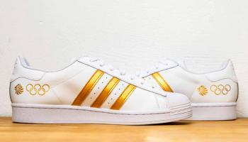 Local designer has his shoes worn Olympic gold medalists