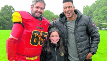 Former NFL star Bell sees Vipers win