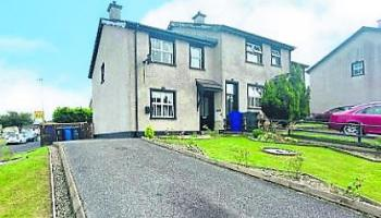 For sale: three-bedroom town house on the outskirts of Derry