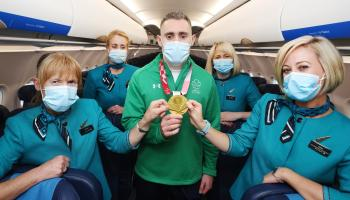 Jason Smyth flies home after another successful Paralympic Games