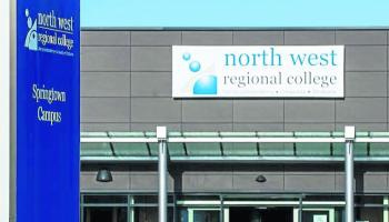 Derry's North West Regional College welcomes students back to redeveloped Springtown campus
