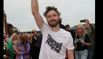 Danny Quigley thanks people of Derry after reaching £100,000