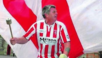 Candystripe legends to honour Derry City 'super fan'