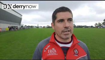 WATCH:  Ballinascreen camogie manager Raemann Kennedy on his side's win over Swatragh