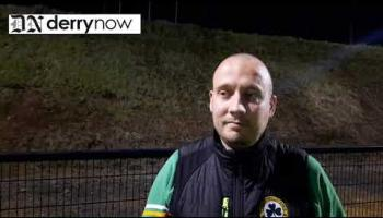 WATCH: Desertmartin manager Kevin O'Neill's thoughts on their win over Ballerin