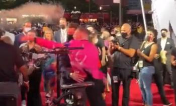 WATCH: Conor McGregor throws drink at VMAs