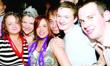 Throwback Thursday: Out & About at Carraig Bar Foam Party (2007)