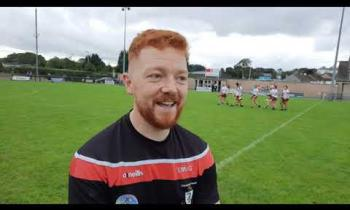 WATCH: Magehrafelt camogie manager Eoghan McGrellis gives his thoughts on victory over Greenlough