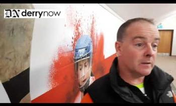 WATCH: Lavey joint manager Jude Donnelly's reaction to their victory over Slaughtneil