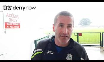 WATCH: Dungiven manager Stephen O'Neill's thoughts after his side's win over Foreglen in the Derry SFC