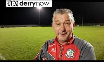 WATCH: Ballerin Ladies manager Anthony Mullan's reaction to their win over Craigbane