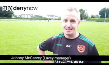 WATCH: Lavey manager Johnny McGarvey's take on their draw with Swatragh