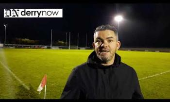 WATCH: Castledawson manager's take on his side's Derry IFC win over Glenullin