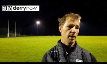 WATCH: Ballerin joint manager Richard Carey's thoughts after their Derry JFC defeat to Desertmartin