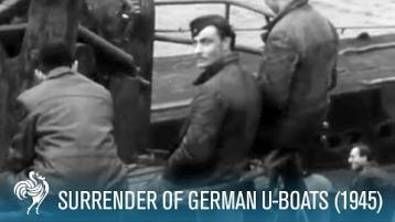 WATCH: Surrender of German U-Boats at Lisahally Port (1945)