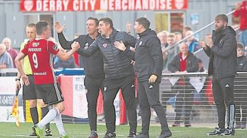 Derry City's first home game of the season - a derby against Finn Harps - is to be shown live on RTE
