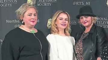 Derry Girls and Lisa McGee honoured at RTS NI awards