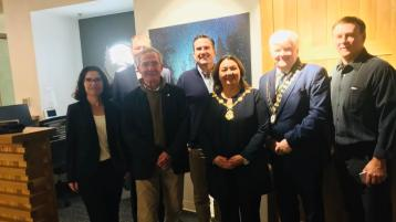 Derry/Donegal delegation discuss development of Ulster section of International Appalachian Trail