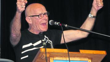 Eamonn McCann enlivens audience at Allingham Festival