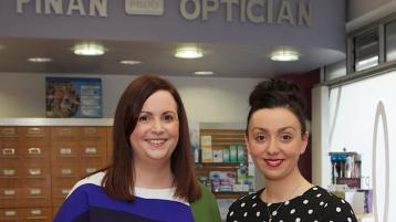 New directors at Finan Opticians offer personalised approach to eye care