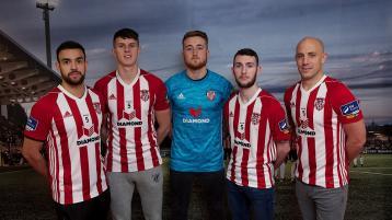 Derry City FC: Declan Devine's party of five