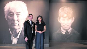 US Consul General visits Seamus Heaney HomePlace