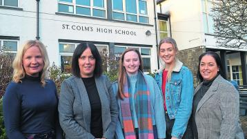NI top spots for St Colm's pupils