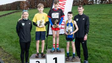 Local runners take top spots in NI Primary School Cross Country League