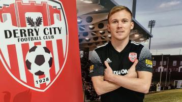 Returning midfielder Conor McCormack unveiled as the new captain of Derry City