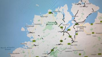 Forty-six new speed safety camera zones in effect across Donegal