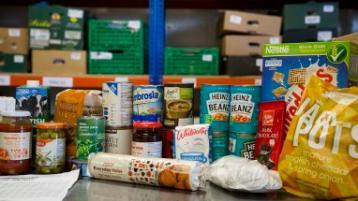 Derry food bank
