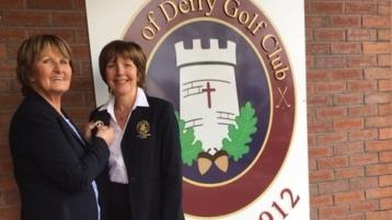 Passing the torch at City of Derry
