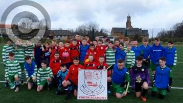 Celtic youngsters enjoy Glasgow Trip
